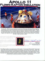 Apollo 11 - Gold Kapton Foil Flown to the Moon - Once Owned by Buzz Aldrin w/COA