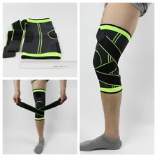 3D Weaving Knee Brace Breathable Soft Sleeve Support for Running Jogging Sports