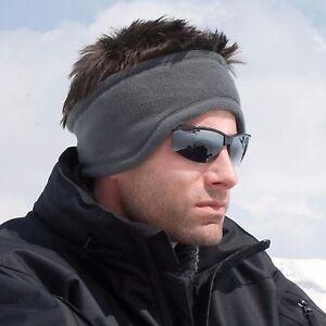 Fleece Headband Soft Winter Warm Hat Ear Muff Warmer Ski Snowboard Mens Ladies