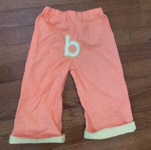 Cutey Booty Baby PANTS Size 2 Year Monogrammed B NEW