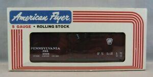 American Flyer S-Gauge #4-9705 Pennsylvania Railroad Covered Hopper - NOS