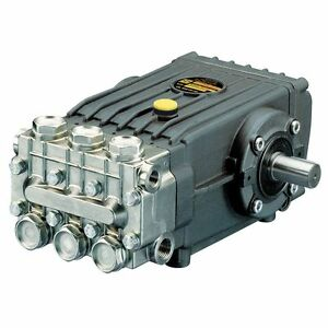 Interpump WS201 High Pressure Pump Male Solid Shaft 200 Bar 3000PSI 15 LPM Honda