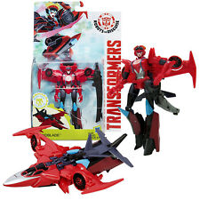 Year 2015 Hasbro Transformers Robots in Disguise Deluxe Class Figure WINDBLADE