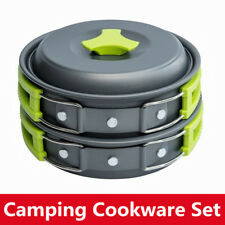 10PCS Kits Camping Cookware Set for Camping Backpacking Gear BBQ Picnic Outdoor