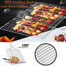 BBQ Grilling Basket Fish Vegetable Steak Grill Stainless Steel Camping Tools