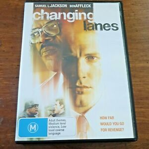 Changing Lanes DVD R4 Like New! – FREE POST