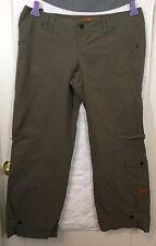 Kikgirl Army Green cargo skater pants 14 Vintage 90s Wide Leg Excellent shape B2