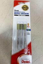 New Pentel 9 Pack Non Abrasive Z2 1 Eraser Refills Mechanical Pencil Z21bp3 K6