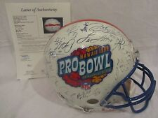 1999 Pro Bowl Team Autographed (30+ Signatures) Full Size Helmet - Full JSA LOA
