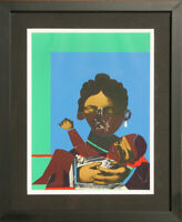 "Romare Bearden ""Mother & Child"" Lithograph"