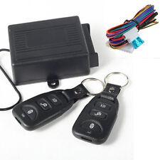 12V UNIVERSAL CAR REMOTE CONTROL CENTRAL DOOR LOCK LOCKING KEYLESS ENTRY SYSTEM