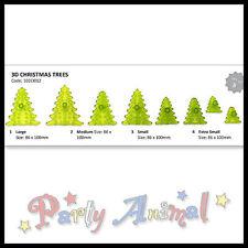 JEM Sugarcraft Cortadores 3D Árbol De Navidad-Navidad Para Decoración De Pasteles/Equipo Conjunto de 8