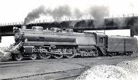 B & 0 Royal Blue 4-6-4  Locomotive# 2 Balitmore & Ohio Railroad Train photo