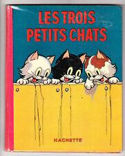 DISNEY. Les Trois Petits Chats. Hachette 1936. Superbe