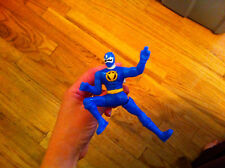 Power Rangers Dino Thunder Blue Ranger kicking action toy McDonald's Collectible