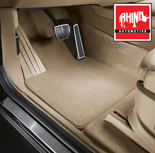 JAGUAR XF 2008-2014 (x250) FULLY TAILORED BEIGE CARPET CAR MAT SET 1127