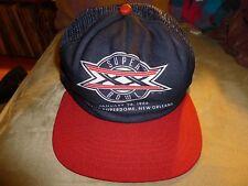 Vintage New Era Superbowl XX Trucker Snap Back Hat Patriots Bears Brady 1986