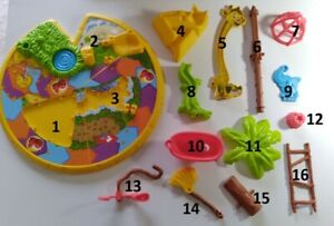 Elefun & Friends Hasbro Mouse Trap Replacement Parts / Pieces (tub, croc, more)