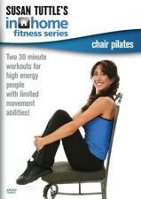 SUSAN TUTTLE'S IN HOME FITNESS: CHAIR PILATES - DVD - Region Free