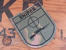 SNAKE PATCH - ECUSSON BLASON SNIPER MULTICAM - tir ghillie Airsoft M24 TE TP