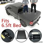 6.5FT SHORT BED HARD TRI-FOLD LOCK TONNEAU COVER FIT FOR 09-14 FORD F150 EXTRA
