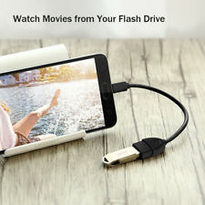 Micro USB OTG Cable Adapter Cord Data USB Male to USB 2.0 Female For Android