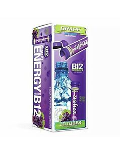ZipFizz Healthy Energy Drink Grape 20 Tubes (no box only the product) + 1 Gift
