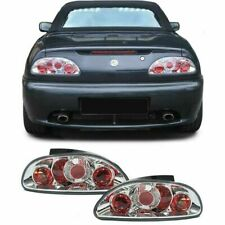 Chrome Clear finish Tail rear lights for MG F Convertible RD TF 95-05
