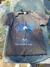 Vintage Zion National Park Hanes 90s Shirt Size Medium