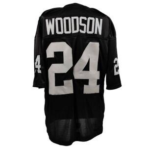 🔥 Charles Woodson UNSIGNED CUSTOM Sewn Stitched Black Jersey M, L, XL, 2XL, 3XL