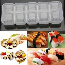 Sushi Maker Rice Roll Mold Kitchen DIY Easy Chef Set Non Stick Press Bento Mould