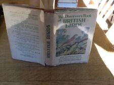 Observers Book Of British Birds 1940
