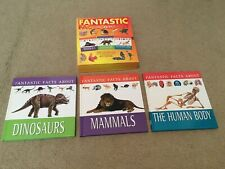 Fantast Facts About [Mammals, Dinosaurs The Human Body] ( 3 Set) - Hardcover