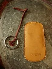 Rare Vintage LOUIS VUITTON Leather Case for TRUNK KEY Keepall Suitcase Tote Bag