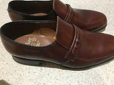 New listing Barker men's English shoes vintage brown slip on size 5 and half