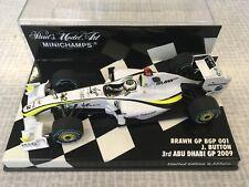 1/43 Minichamps Conversion Brawn GP BGP 001 Abu Dhabi GP 2009 Button Champion