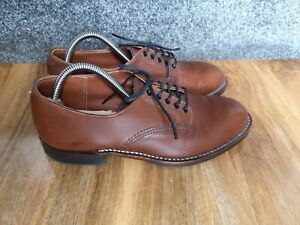Red Wing Brown leather Heritage Beckman Oxford lace up shoes, size 7 UK / 41 EU
