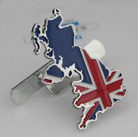 British flag Auto Grill Frontgrill Emblem Badge Abzeichen Schriftzug Plakette