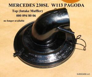 MERCEDES 230SL Top (Intake Muffler) 000 094 80 06 MANN AIR CLEANER W113 PAGODA