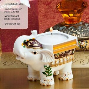 50 Good Luck Indian Elephant Candle Holder Wedding Bridal Shower Party Favors