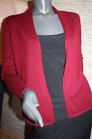 Luxus Kaschmir Cashmere Cardigan Pullover Strickjacke MARK ADAM Gr. 36-38 S neu