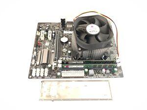 CHEAP ECS H61H2-M2 LGA1155 Micro-ATX @HDMI@ Motherboard + CPU + 4GB DDR3 RAM