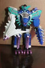 "Power Rangers Dino Thunder 6"" Artic Megazord 6"" HTF complete w/weapons"