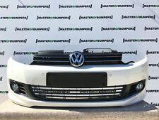 VW Golf MK6 Hatchback Cabrio R Line 2009-2013 paraurti anteriore in bianco [V233]