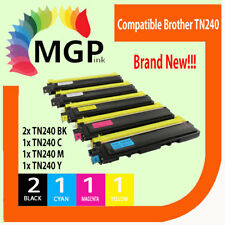 5x Compatible toner TN240 for Brother HL-3075CW HL-3045CN MFC 9010CN 9125CN