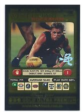 2001 Teamcoach Gold Ultra Premium Prize Card (299) Michael GARDINER West Coast
