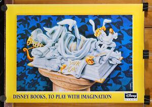 poster GOOFY - PIPPO - DISNEY BOOKS - art by Silvano Scolari