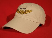 Northwest Airlines Pilot Wings Commemorative ball cap low-profile hat - stone