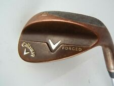 CALLAWAY V FORGED COPPER 60* WEDGE LW GOLF CLUB STEEL GOOD GRIP RH