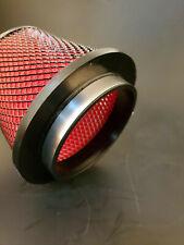 """Mitsubishi Eclipse Evo 4.5"""" Hyper V2 Foam Air Filter Red"""